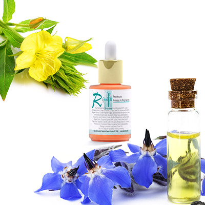Contains Evening Primrose Oil and Borage Seed Oil