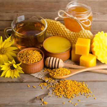 Beeswax ingredient high light